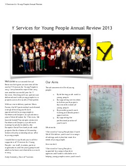 Our 2013 Annual Review