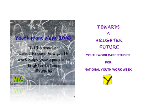 Case Studies for National Youth Work Week