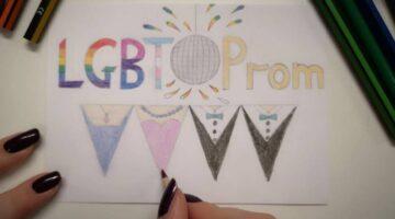 lgbt prom logo